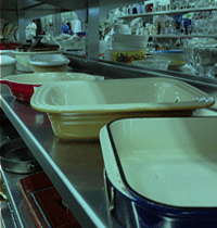 Kitchen merchandise at our stores