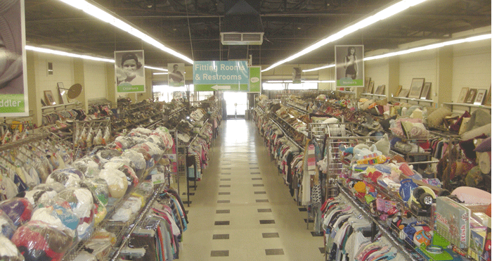 Pomona indoor clothing racks