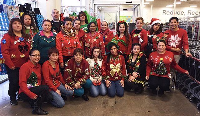 Holiday Staff Group Picture